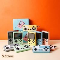 Console de jeu vidéo de Macaron de poche 800 en 1 rétro 8 bit 3,0 pouces Coloré LCD Support Deux joueurs