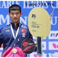 Yinhe 30 aniversario Versión profesional V14 V-14 Pro Table Tenis Blade para New Material 40+ 201116