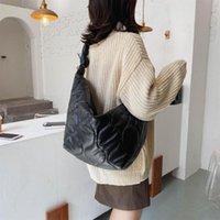 Yeni Lüks Tasarımcı Moda Marka Tote Çanta 2021 Büyük Müşteri Çanta Siyah Crossbody Omuz Vintage Çanta Kadınlar Için
