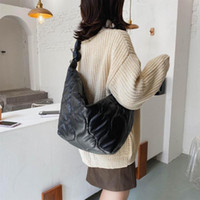 For Luxury Shopper 2021 Brand Tote Bag Shoulder Big New Fashion Black Crossbody Handbags Vintage Designer Women Xdgvb