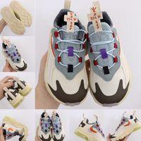 2020 Bebek Bebek Üst Travis Scott Koşu Ayakkabıları Çocuk 270s OG Çocuk Erkek Kız Bauhaus Flair Sneakers Rahat Ayakkabı Boyutu 23-35