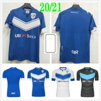2020 2021 Brescia Calcio Soccer Jerseys Magnani Tonali Donnarumla Aye Maglietta Morosini Balotelli Custom 20 21 Home Blue Football Shirt