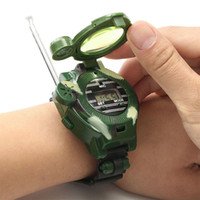 Walkie Talkies Watches Toys for Kids 7 en 1 Camuflage 2 Way Radios Mini Walkie Talkie Talkie Interphone Reloj Niños Smart Toys LJ201105