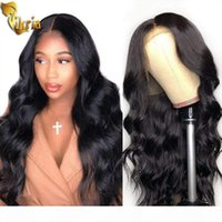 Body Wave Glueless Lace Human Hair Wigs 360 Lace Wig Pre Plu...