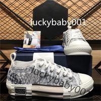 Dior B23 Scarpe casual da donna Scarpe da donna ricamato Tecnico Tecnica Tecnica Scarpe Alta Top popolari Abiti da scarpe da ginnastica Oblique Scarpe da ginnastica Chaussures
