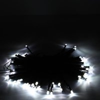50 LED Solar Powered Pure White String Light Xmas Garden Deco Holiday LED Strings wholesale Fast delivery