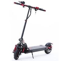 Leistungsstarker elektrischer Roller 2400W 60V Zwei-Rad-Elektroroller Dual-Laufwerk High-Speed 65km / h Faltbarer Kick-Roller Erwachsener