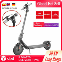 Stock de la UE 7 días Llegan rápido plegable scooter eléctrico 350w 30 km de largo alcance eléctrico portátil portátil impermeable ebike