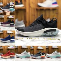 2021 Novo Joyride Run FK Mens Womens Correndo Tênis Triplo Black White Platinum Racer Azul Designers Sports Sneakers Tamanho 36-45