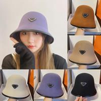 مصمم العلامة التجارية إلكتروني p دلو الفاخرة قبعة ل إمرأة قبعات الشمس قبعات قابلة للطي صياد الشمس قناع السيدات casquette bowler cap