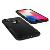 SGP Spigen 하이브리드 갑옷 이중 레이어 터프 케이스 Iphone12 Mini 11 Pro Max X 7/8/6 Plus S20 용 헤비 듀티 수비수 Shockproof 보호 장치