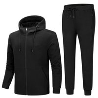 Luxus Trainingsanzug 2020 Beste Version Frühling Herbst Herren Designer Trainingsanzüge Drucken Zipper Anzug Tops + Hosen Mens Casual Sweatshirt Sportanzüge