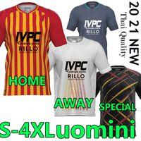 4XL BENEVENTO CALCIO 2020 21 Soccer Jerseys Versione speciale Lapadula Viola Caldirola I.Falque Uomini UOMINI VESTITI DA uniforme da calcio