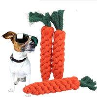 الكلب لعبة الجزرة الشكل مولار القطن حبل جرو مضغ لعب تكييف تنظيف في الهواء الطلق متعة التدريب الحيوانات الأليفة العرض JK2012XB