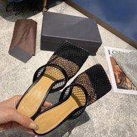 Ollymurs Yüksek Topuklu Yuvarlak Ayakları Terlik Metal Zincir Ayak Bileği Kayışı Terlik Meah Katır Zapatos De Mujer Ayakkabı Kadınlar