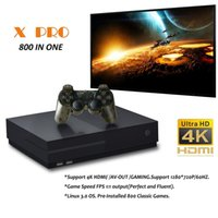 X Pro 4K HD Videojuegos Consola Doble Joystick Retro Classic Handheld Game Player HDMI TV OUT OUT 800 juegos