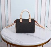 Высокое качество роскоши дизайнеры женские сумки кошельки женские моды Crossbody плечо мини NANO Speedy ручка сумка M61252 с пакетиком для пыли оптом
