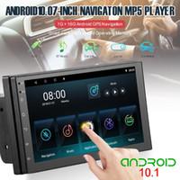 "Auto Audio 7 ""Bluetooth Double Din Stereo MP5 / 4/3 Spieler mit GPS Touch Screen Android 10.0 FM Funkempfänger für Drop CSV"