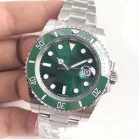 Nfactory v9 sürümü 904L çelik 40mm yeşil kadranı seramik çerçeve R116610ln R116610lv Swiss eta3135 2836 hareketi otomatik mens watch
