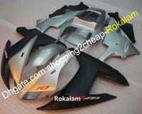 Carrocería para Yamaha yzf1000 02 03 YZFR1 YZF 1000 R1 2002 2003 Black Black Motorcycle Fairing Kit de posventa (moldeo por inyección)