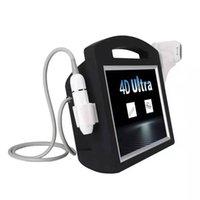 HIFU 2in1 VMAX 3D 4D Beauty Machine для морщин Удаление лица Омоложение и подъемное липоночное тело для похудения Корея Технология