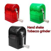 مطاحن بلاستيك طاحونة الإبداعية اليد كرنك كسارة القاطع مولات تقطيع التدخين حالة K9061