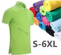 Designer 2020 Neue Poloshirt Männer Hohe Qualität Krokodil Stickerei Logo Große Größe S-6XL Kurzarm Sommer Casual Baumwolle Polo Hemden Herren