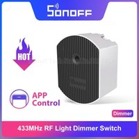 Sonoff D1 Smart Dimmer 433MHz RF Wi-Fi Switch Ajuster la luminosité de la lumière Scène intelligente Via Ewelink App google Accueil Alexa IFTTTT1