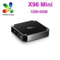 X96 البسيطة الروبوت التلفزيون مربع x96mini الروبوت 9.0 التلفزيون الذكي 1GB 8GB amlogic S905W رباعية النواة 2.4 جيجا هرتز wifi 1GB8GB