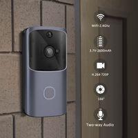 720 P HD WiFi Kapı Zili Görüntülü Kapı İnterkom Kablosuz Akıllı Ev IP Kapılar Çan Kamera Güvenlik Alarmı IR Gece Görüş