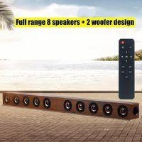 بلوتوث لاسلكي كامل المدى 8 مكبرات الصوت 2 مكبر الصوت لعمود التلفزيون المسرح المنزلي مركز الموسيقى الصوتية SoundBar مع التحكم عن بعد 1