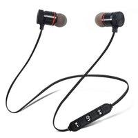 Wireless Headphones M5 Bluetooth Earphone Metal Sports Sweat Earphone Magnetic Earpiece Stereo Headset for iPhone XS 9 Mobile
