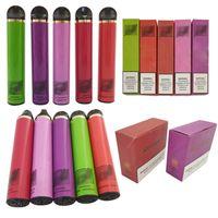 Новейшая ручка для Vape 1.8OMM Smoke Food Snource Machine Устройство Одноразовые E CIG 5 мл 1500 Загонией Puff Clear Plus