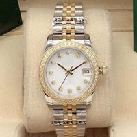 Bester Verkauf hochwertiger Mode Damen Diamant Uhren Damen 31mm Edelstahl Uhren Damen Automatische mechanische Sportuhren