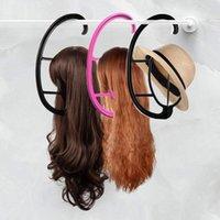 Портативный парик вешалка салон парикмахерская висит шляпы держатель сушилки дисплей стенд парик аксессуар парик стенд стенды как длинные короткие парики