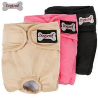 Доглеми женский многоразовый моющиеся собачки подгузники милые подгузники смена домашних животных брюки стильные санитарные штаны собаки LJ200923