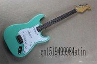 Fabrikpreis Benutzerdefinierte Körperkünstler Unterschrift Stratocaster Seymour Duncan Pickups E-Gitarre