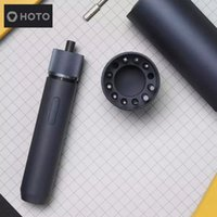 Оригинал Youpin Hoto Electric Отвертка прямая ручка электрическая отвертка 3speed крутящий момент аккумулятор с подругой коробке светодиодный свет 12 бит