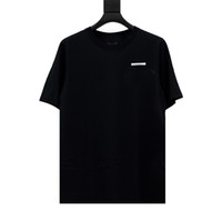 S-5XL Cotone in cotone T-shirt Plus Size Anti-Shrink Donne T-shirt T-shirt Nero Mens Donne Fashion Funny Cotton Man T-shirt Top Shirts manica corta