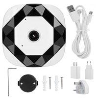 Cámara de vigilancia de la red panorámica de 960P WiFi 360 grados Cámara de vigilancia IR Detección de movimiento1