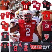 Utah Utes Football Jersey NCAA College Smith Huntley Moss Thompson Kuithe Anae Lloyd Brumfield Dixon Shelley Covey Hansen Bolles Lotulelei