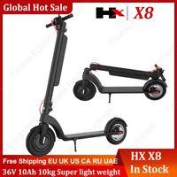 Faltender Hx x8 elektrischer Skateboard-Roller-Fahrrad faltbarer Kick-Scooter 36V 10Ah-Escooter