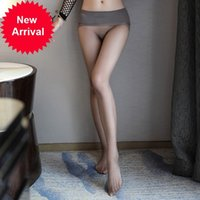 Saroosy Sexy Pantyhose para las mujeres Alto Elástico Sheer Medias Lencería Flesh Light Oil Shiny Plus Tamaño Mallas Nueva Llegada
