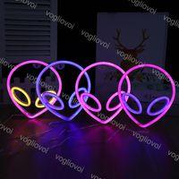 LED النيون تسجيل ضوء SMD2835 في الأماكن المغلقة ليلة الغريبة et images مختلط اللون لقضاء عطلة عيد الميلاد حفل زفاف الجدول ديكورات eub