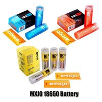 Original MXJO IMR 18650 Type de batterie 1 2 Peau jaune 3500MAH 20A 3000MAH 35A ​​37V 3.7v Rechargeable Lithium Vape Batterie CIG Authentique DHL