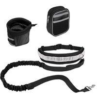 الحيوانات الأليفة الكلب المقود الأيدي الحرة الجر حزام مقعد قابل للتعديل الجر المقود في الهواء الطلق الرياضة المشي تشغيل حبل CCC4555