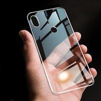 Alcatel Serisi için Niny Alcatel 1S 2020 vb Fit Muhafaza TPU Silikon Yumuşak Düz Şeffaf Anti-sonbahar için Arka Telefon Kapak Kılıfı