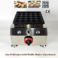 Хлебные производители из нержавеющей стали газовый поффертджес гриль не приспособлен голландские блинчики пухлые машины для завтрака столовая ресторан