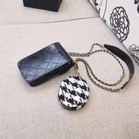 Caja del teléfono de la cruz de la moda con una pequeña bolsa de buena calidad viene con caja de regalo caja de teléfono caja de PU