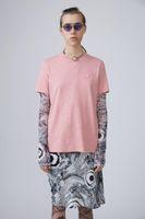 Stile di primavera Stile estate Nuovi Studios AC Sorriso Face T Shirt Northern Europe Brand Brand Color Cotton Cotone Manica corta T-shirt TAE